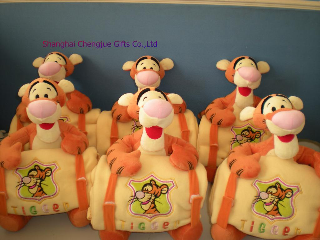 Plush jumping tigerCJPT00023